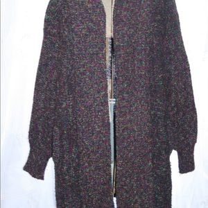 Westbound Long Cardigan,Size Large,vintage sweater